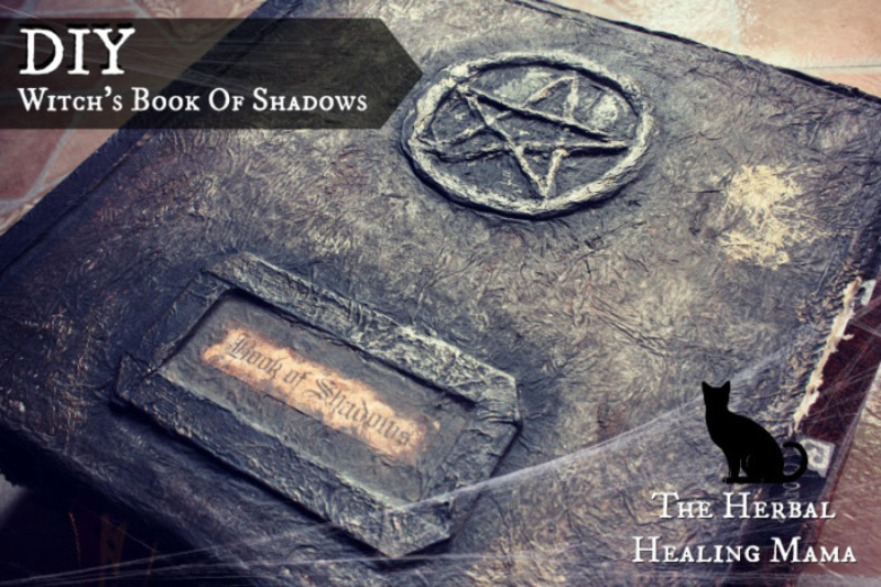 Make A Book of Shadows Craft Book